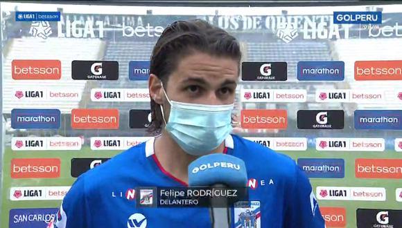Felipe Rodríguez se tomó unos minutos para hablar de los últimos suicidios que sucedieron con jugadores uruguayos. (Foto: GOLPERU)