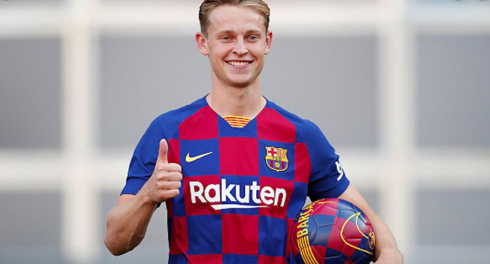 Frenkie de Jong | Barcelona. (Getty Images)