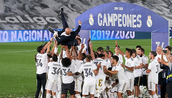 Real Madrid ha ganado 13 veces la Champions League. (Foto: Getty Images)