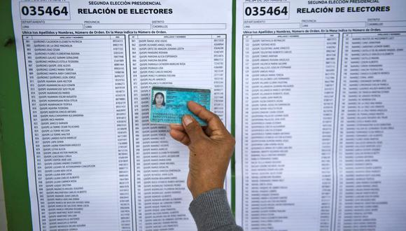 La jornada electoral del 11 de abril se realizará bajo estrictos protocolos para evitar la propagación del COVID-19. (Foto: AFP)