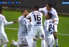 Leudo anotó y firmó el 1-1 ante Sporting Cristal por Liga 1 [VIDEO]