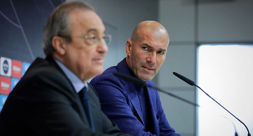 Zidane cumple su segunda etapa en el Real Madrid. (Getty)