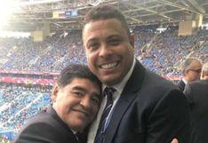 """Cannavaro la tiene clara: """"Maradona fue el mejor y el único que se acercó fue Ronaldo"""""""