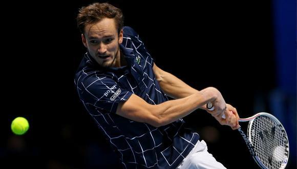 Daniil Medvedev desplazará a Rafael Nadal y será el nuevo número dos de la ATP. (Foto: Twitter ATP Tour)