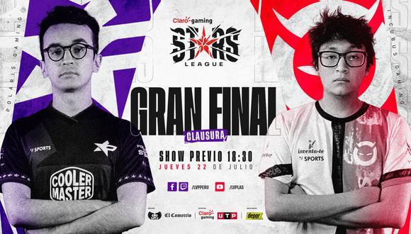 Claro Gaming Stars League: fecha, hora y donde ver la Gran Final del Clausura. (Imagen: LVP Perú)