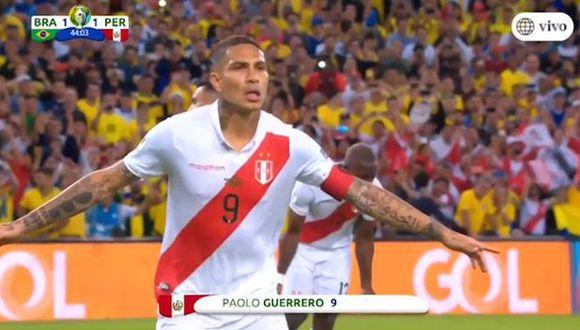 Paolo Guerrero marcó el gol del empate en el Maracaná. (Vídeo: América TV)
