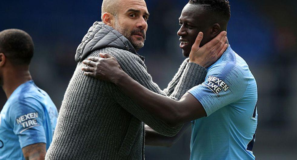 Benjamin Mendy es titular en el Manchester City de Pep Guardiola. (Foto: Getty Images)