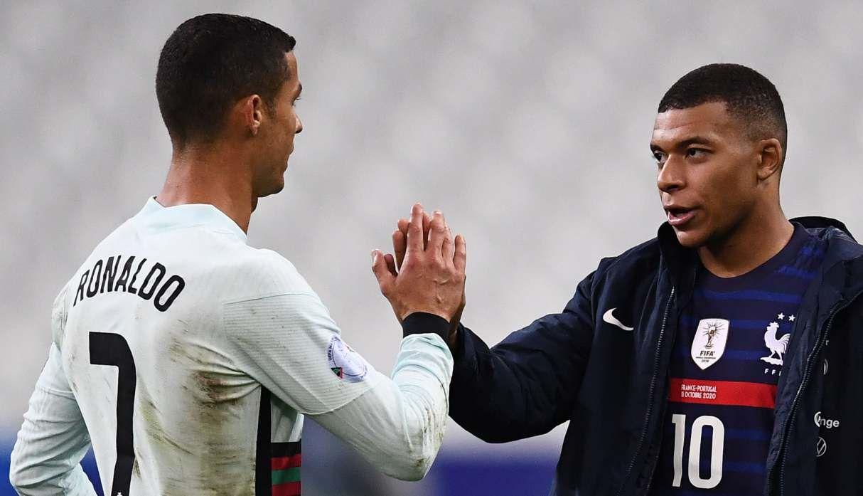 Cristiano Ronaldo también jugó en Real Madrid. (AFP)