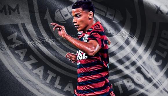 Richard Ríos es considerado una de las jóvenes promesas del Flamengo en la actualidad (Foto: @MazatlanFC)