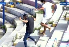 ¡Barco celebró en el alambrado! La emoción tras el gol de Pérez en el San Martín vs. Alianza Atlético [VIDEO]