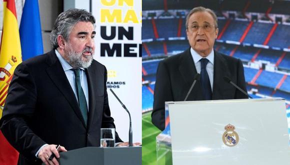 Ministro español espera reunirse con Pérez por tema Superliga Europea (Foto: Agencias)