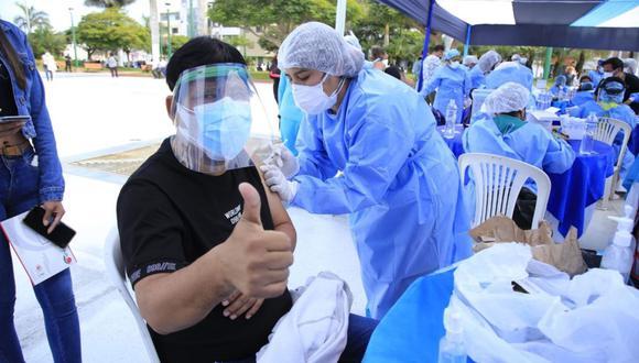 Entérate cómo se alista un nuevo Vacunatón (Foto: Andina).