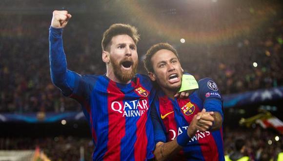 Neymar junto a Messi y Suárez conformaron la temible 'MSN', trío que consiguió el triplete (Liga, Copa y Champions League) en la temporada 2014-2015. (Foto: ESPN)