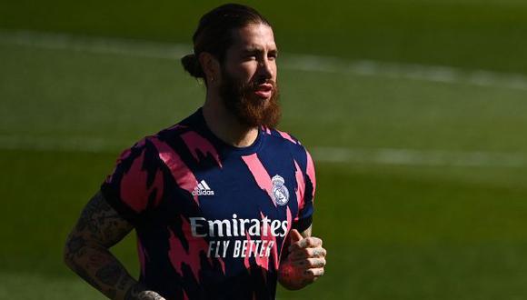 Sergio Ramos termina contrato con el Real Madrid el 30 de junio de este año. (Foto: AFP)
