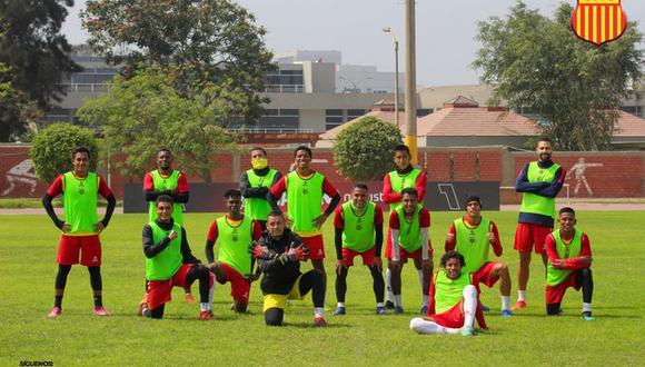 Atlético Grau tuvo que entrenar este domingo vía zoom. (Foto: Prensa Grau)