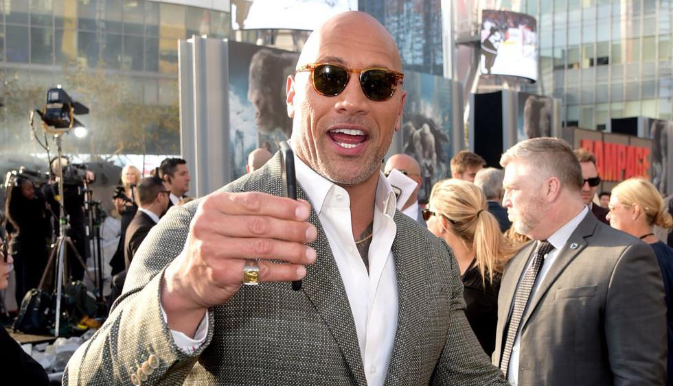 """Dwayne Johnson, conocido como """"The Rock"""", sorprendió con video a una fanática que cumplió 100 años. (Foto: AFP)"""