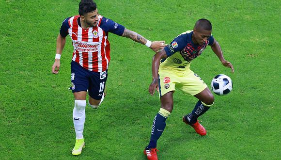 América vs. Chivas se vieron las caras este sábado por la jornada 10 de la Liga MX 2021 (Foto: Getty Images).