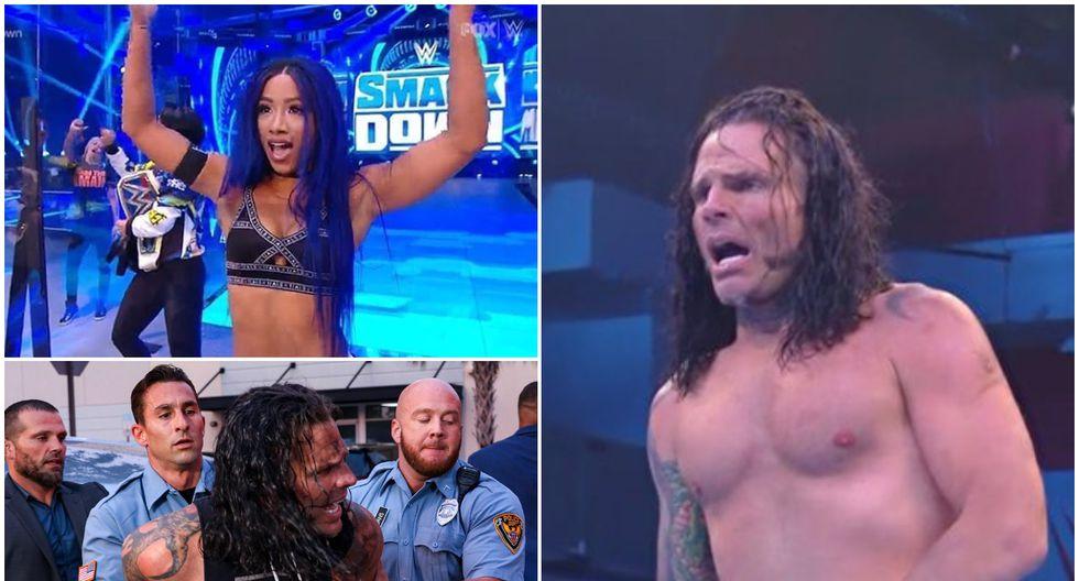 Repasa todos los resultados de SmackDown. (Foto: WWE)