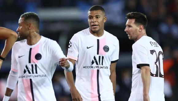 PSG sufrió su primera derrota en la temporada, frente al Rennes por la Ligue 1. (Foto: EFE)