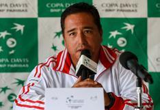 """'Tupi' Venero: """"En los partidos de la Copa Davis, es fundamental el apoyo del público"""""""