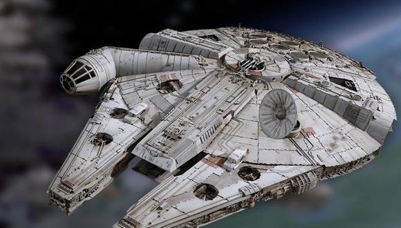 Among Us: así se vería el Halcón Milenario de Star Wars como mapa del juego. (Foto: Difusión)
