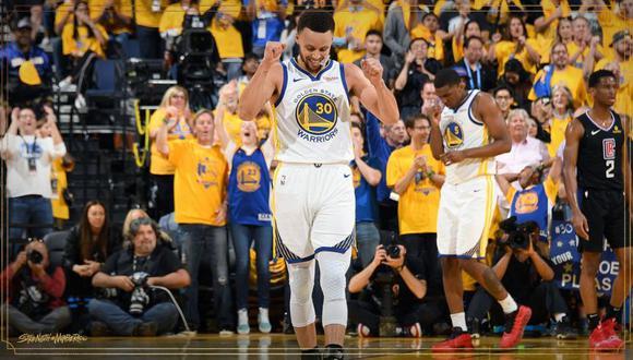 Stephen Curry es uno de los mejores jugadores de los Warriors. (Golden State Warriors)