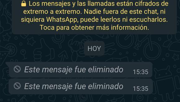 WhatsApp: ¿cómo recuperar mensajes borrados en Android? (Foto: Mag)