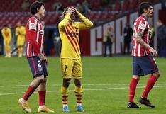 En caída libre: un discreto Barcelona no pudo ante Atlético Madrid por LaLiga 2020