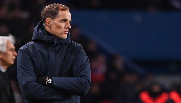 Thomas Tuchel tenía contrato con el PSG hasta junio de 2021. (Foto: AFP)