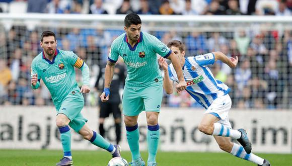 Barcelona sigue como líder, pero puede perder la punta si Real Madrid gana al Valencia. (Getty)
