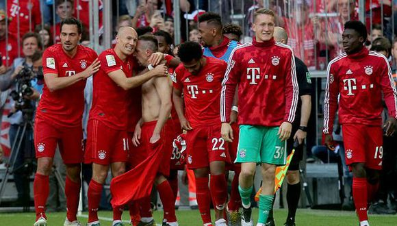 Bayern Munich ganó la Bundesliga por sétima vez consecutiva. (Foto: Getty Images)