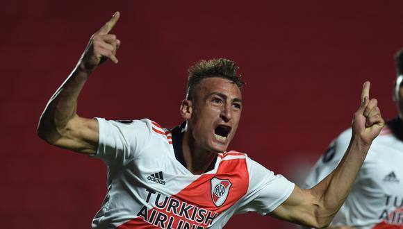 River Plate derrotó a Argentinos Juniors y avanzó a cuartos de final de la Copa Libertadores 2021.