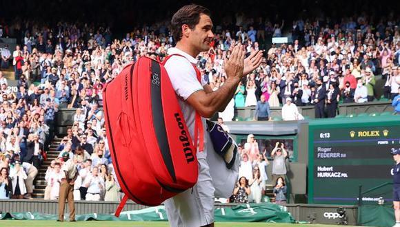 """Roger Federer ilusiona a sus fanáticos: """"Me gustaría jugar de nuevo en Wimbledon"""". (Twitter)"""