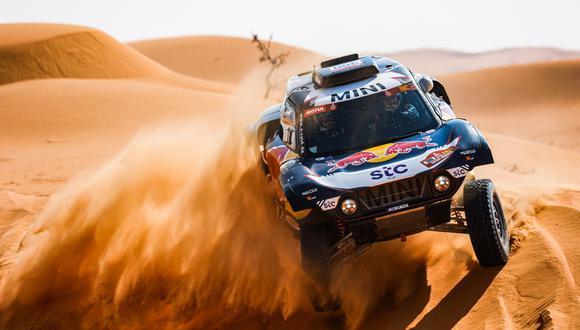 Continúa el Rally Dakar 2021 entre Haíl y Sakaka.  (Foto: Dakar)