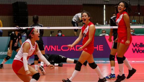 Perú derrotó a Egipto por 3-1 en su debut en el Mundial de Vóley Sub 18. (FIVB)