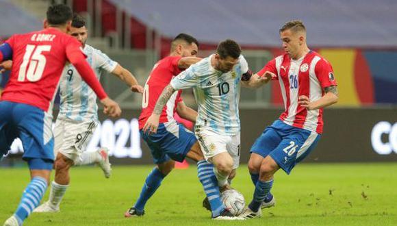 GOL Argentina vs. Paraguay (1-0): resumen, incidencias y anotaciones por  Copa América 2021 | FUTBOL-INTERNACIONAL | DEPOR