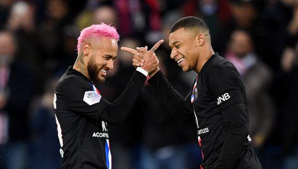 PSG fue declarado campeón de la Ligue 1 tras darse por concluida la temporada. (Foto: AFP)