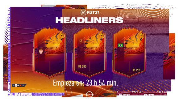 FIFA 21: los Headliners se adelantan, qué son y los futbolistas que podrían ingresar. (Foto: EA Sports)