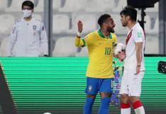 """""""No llores, amigo"""": la repuesta de Neymar a Carlos Zambrano luego que este lo llame """"payaso"""""""