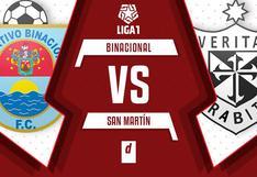 Binacional vs. San Martín: chocan este lunes EN VIVO por la fecha 13 de la Fase 2 en la Liga 1