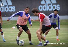 Sporting Cristal recuperó a Christofer Gonzales y Omar Merlo para enfrentar a Binacional en Juliaca