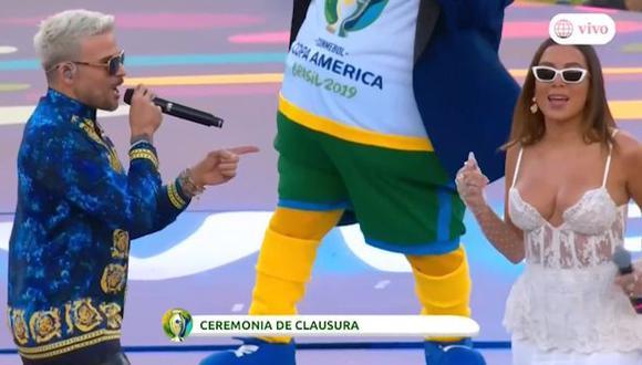'Calma' al ritmo de Pedró Capó y Nina: así fue la Ceremonia de Clausura de la Copa América 2019