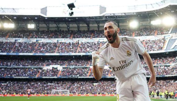 Karim Benzema lleva más de diez años en el Real Madrid. (AFP)