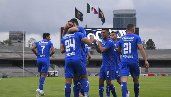 Juan Escobar fue el autor del gol de la victoria para Cruz Azul ante León.