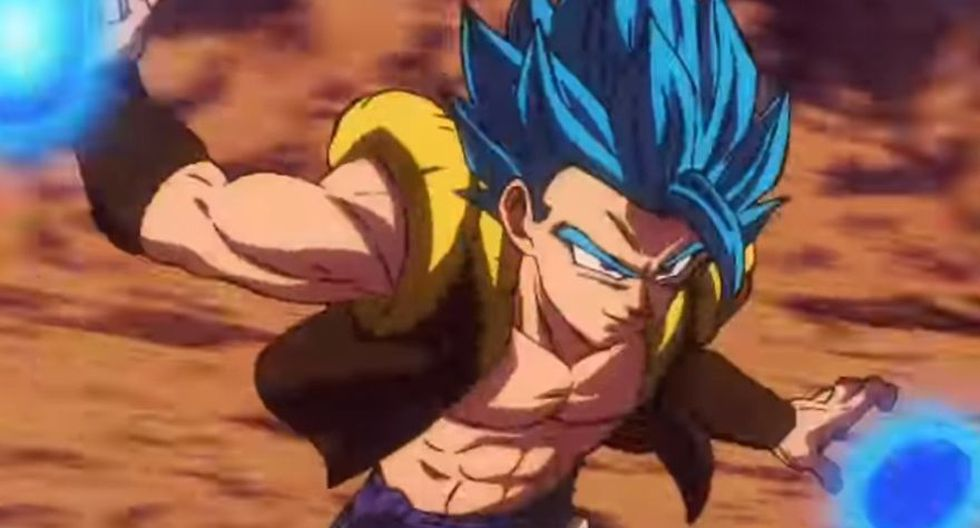 Gogeta en Dragon Ball Super