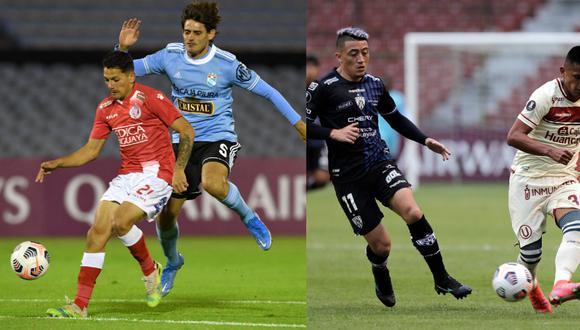 Uribe habló sobre presente de Universitario y Sporting Cristal en la Copa Libertadores. (Foto: CONMEBOL)