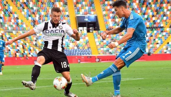 Juventus vs Udinese chocan por la fecha 35 de la Serie A. (Foto: AFP)