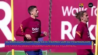 El Barcelona entrenó por primera vez sin Luis Suárez