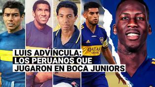 Luis Advíncula: recuerda a todos los peruanos que jugaron en Boca Juniors
