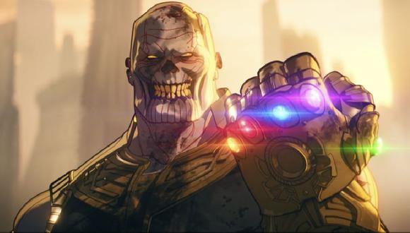 Marvel: explicación de cómo Thanos acabó siendo un zombi en What If...?